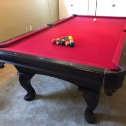 Olghausen Regulation Pool Table