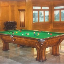 Brunswick - Marquette Pool/Billiard Table - 115 of 160 - Never Used - Like New - Retail:  $11,000